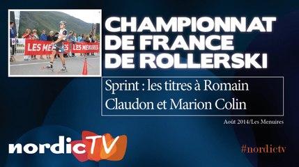 Rollerski : Romain Claudon et Marion Colin champions de France