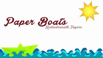 Paper Boats By Rabindranath Tagore