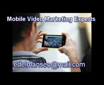 Mobile Video Marketing Professional Services