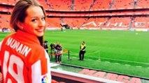 Athletic Bilbao, Munian: un gol al Napoli per la bella Andrea Sesma
