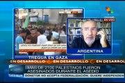 Israel seguirá intentando anexar territorios palestinos: Atilio Borón