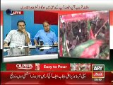 Rauf Klasra Telling the 'U-Turn' of PM Nawaz Sharif in a Live Show