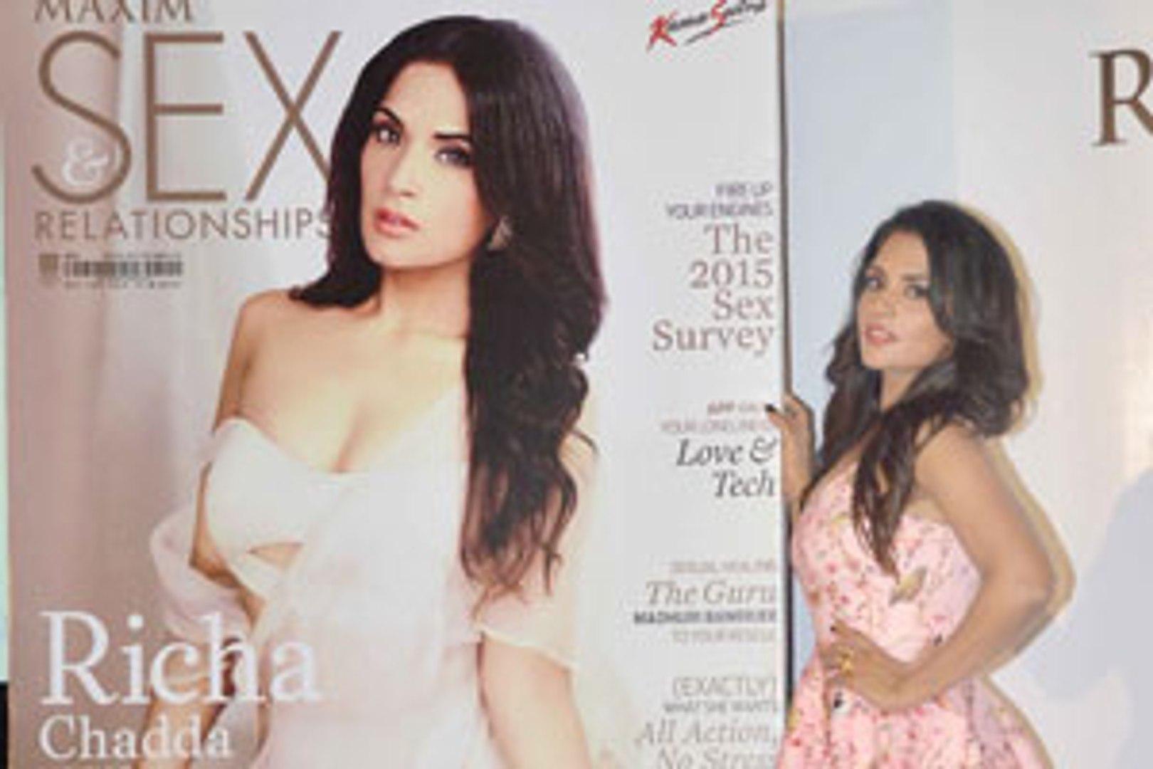 Catch Richa Chadda talk about SEX!