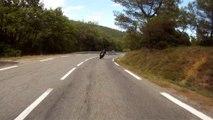 Camps militaire Draguignan_Route militaire