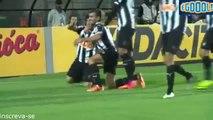 Atlético-MG  1 x 0 Palmeiras - gol de Luan   Copa do Brasil   27-08-2014