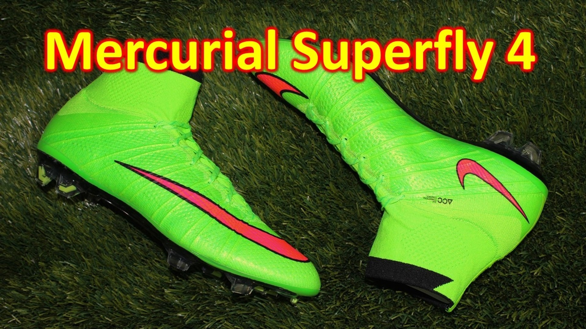 new arrival 67d91 01f1f Nike Mercurial Superfly 4 Electric Green/Hyper Punch - Unboxing + On Feet