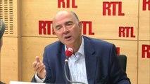 """Pierre Moscovici : Emmanuel Macron """"est un socialiste qui est banquier"""""""
