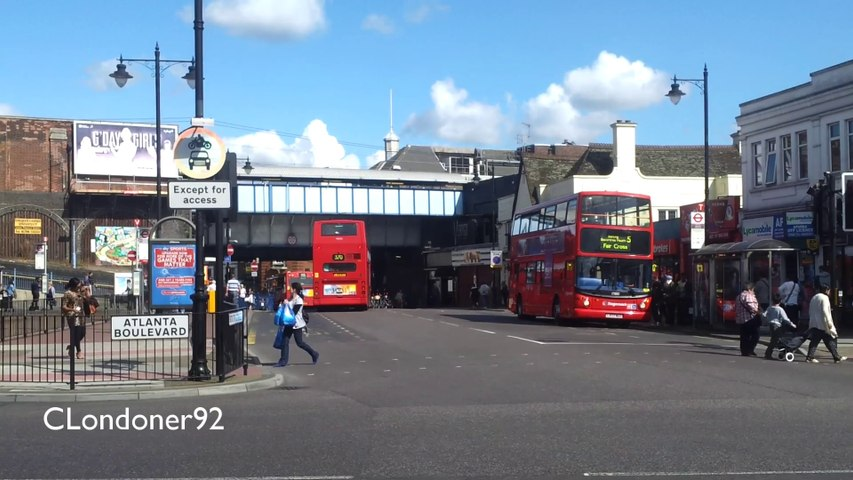 Buses at Romford Station East London 20-08-14