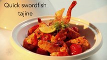 Moroccan food: Moroccan Swordfish Tajine (English version by Meera Freeman )