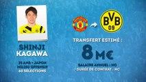 Officiel : Shinji Kagawa rejoint le Borussia Dortmund !