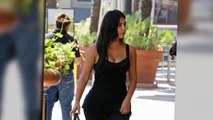 Kim Kardashian Shows Off Famous Curves