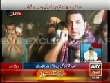 After seeing the treatment of innocent children and women Iqrar Bukhari couldn't hold back his reaction