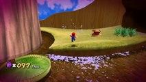 Super Mario Galaxy - Royaume des abeilles - Étoile 5 : Les pièces violettes du royaume des abeilles