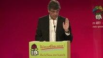 """Montebourg: le """"destin"""" des politiques d'être congédiés"""