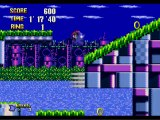 Metal Sonic Hyper Drive - Metal Sonic at Robotic Isle Zone act 1(Normal Mode)