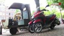On a testé : le scooter trois-roues Yamaha