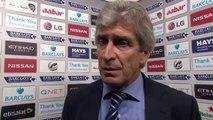 Manuel Pellegrini Post Match Interview - Man City 0-1 Stoke City
