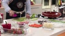 Cuisine Marocaine Tajine de sardines et piments farcis  شميشة  طاجين السردين والفلفل (HD)