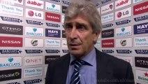 Manchester City vs Stoke 0   1 - Manuel Pellegrini post-match interview
