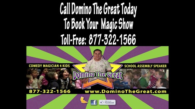 Rhode Island Magician-Magicians in RI-Woonsocket RI- Domino The Great Review