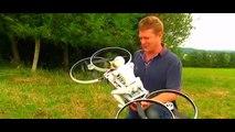moto voladora vs star wars (hoverbike)