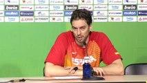 """Mundobasket 2014 - Pau Gasol: """"Iremos a más"""""""