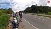 [衝撃映像] バイクの交通事故集 [クラッシュ]