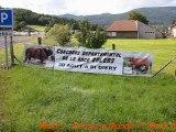 Salers Breeding VINCENT PESCHER, Contest at Saint Diery, France Auvergne