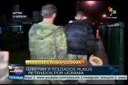 Ucrania libera a los soldados rusos que aprehendió en su territorio