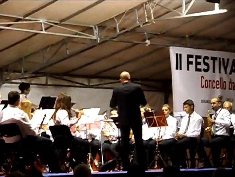 II Concerto de Bandas de Musíca de A Pobra do Caramiñal. Banda de Arca