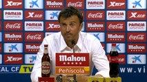 """Luis Enrique: """"Es gratificante ver marcar a los chavales"""""""
