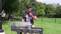 Ice Bucket Challenge avec de l'azote liquide