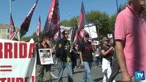 Manifestation des anticorridas à Carcassonne :