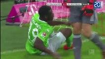 Deux ratés de l'année en deux matchs pour Malanda avec Wolfsburg