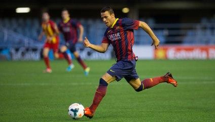 Los goles de Sandro en el fútbol base