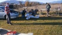 Décollages atterrissages crash en STAMPE à Maureillas