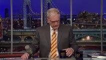 Letterman :  La guerre Twitter avec les autres late shows (2010)