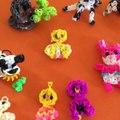 Vidéo non tuto rainbow loom animaux :) création