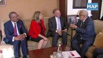 Entretien de Benkirane avec une délégation de parlementaires américains
