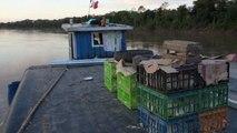 Perou- Yurimagouas: Bateau en Amazonie