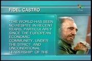 Fidel slams US, European warmongering