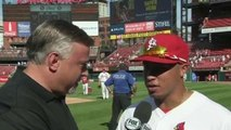 Wong, Cardinals Take NL Central Lead