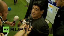 Italy: Maradona, Pirlo and Co play for peace in Rome
