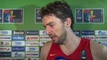 Mundobasket 2014: Pau Gasol, centrado en Francia