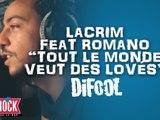 """Lacrim feat. Romano """"Tout le monde veut des lovés"""" dans la Radio Libre !"""