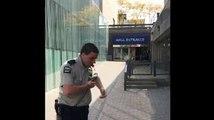 Bmx Riders Vs Security Guards Street Fight