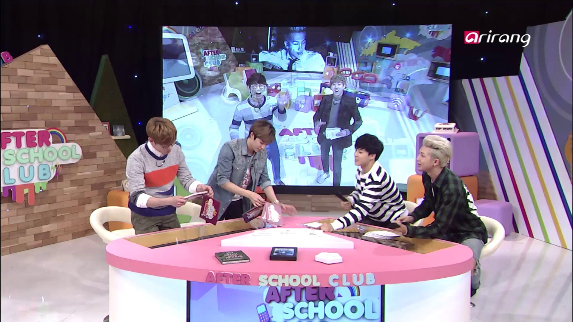 After School Club Ep56 After Show with Eric Nam, Kevin, Rap Monster and Jimin (BTS)