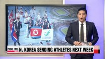 Asian Games delegates from North Korea to arrive from September 11