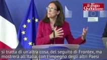 """Migranti, Francia e Ue all'Italia: """"Si a Frontex Plus, ma non si dica che non facciamo niente"""" - Il Fatto Quotidiano"""