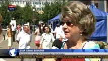Ziua Limbii Române. Care sunt ultimele influenţe şi de unde vin. Românii de pe ambele maluri ale Prutului au organizat împreună spectacole şi expoziţii.